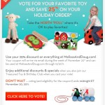 Melissa and Doug North Poll