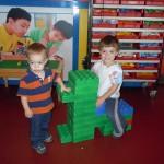 Toddler Tuesday - Legoland Discovery Center - giant legos