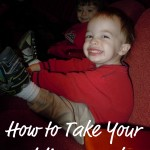 How to Take Your Toddler to a Show - boys