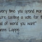 Anne Lappe quote