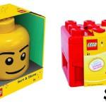 LEGO storage collage