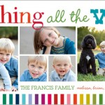 Shutterfly - All The Laughter Holiday Card - Toddling Around Chicagoland