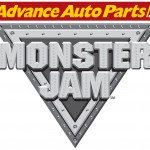 Monster Jam logo - Toddling Around Chicagoland