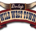 Donley's Wild West Town logo - Toddling Around Chicagoland
