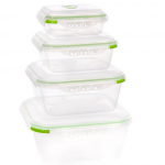 Ozeri Instavac Green Earth Food Storage Container Review - Toddling Around Chicagoland