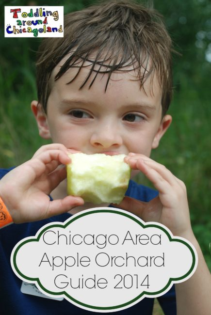 Chicago Area Apple Orchard Guide 2014 - Toddling Around Chicagoland #apple #Chicago #Upick