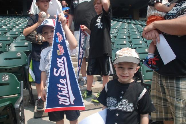 Chicago White Sox Family Sunday - Toddling Around Chicagoland