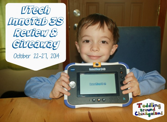 VTech InnoTab 3S Review & Giveaway - Toddling Around Chicagoland #spon