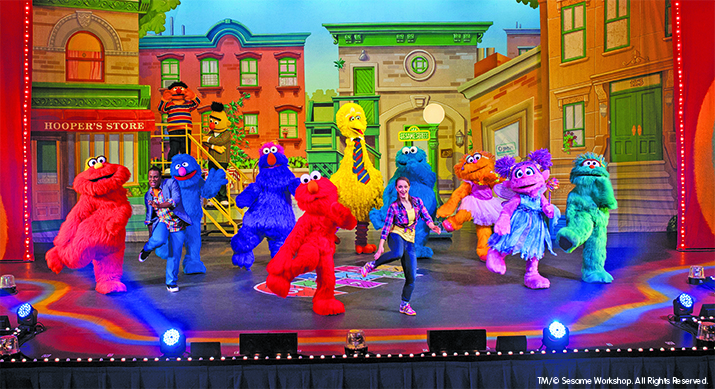 Sesame street live let 39 s dance giveaway discount code for 1234 lets on the dance floor