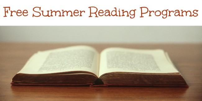 Free Summer Reading Programs - 2015 - Toddling Around ...
