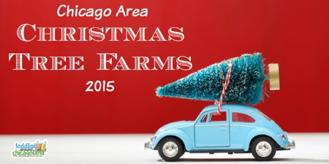 Chicago Area Christmas Tree Farms 2015 - Toddling Around Chicagoland